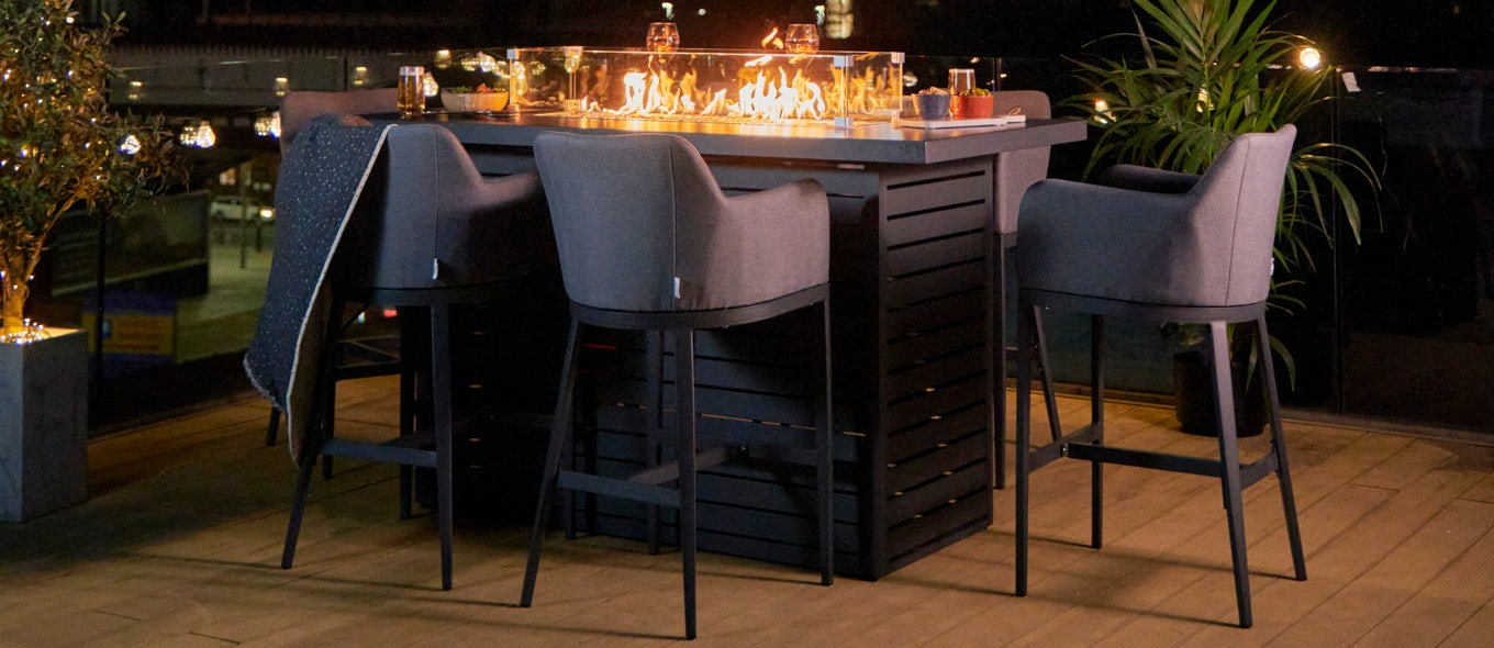 Which type of fire pit table suits your garden?