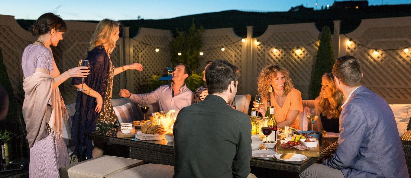 Create Your Own Glast-home-bury or Festival in your Outdoor Space with the help of Moda