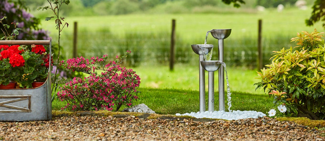 Reinvent Your Outdoors with Our Water Features