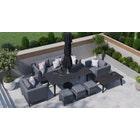 Birkin 10F - 8 Seat Sofa Set and Dining Set