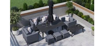 Birkin 10F - 8 Seat Sofa Set And Dining Combo