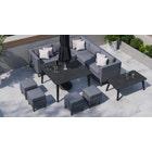 Birkin 1D - Corner Sofa with Dining Table