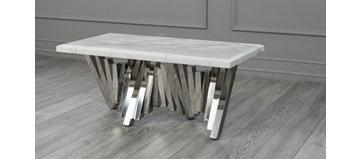 Matrix Coffee Table White