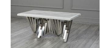 Matrix Coffee Table White