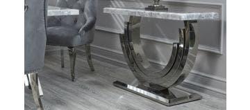 Burford Console Table Grey
