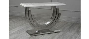 Burford Console Table White