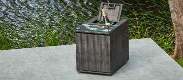 Matching Weave Drinks Trolley