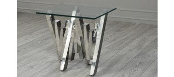 Matrix Side Table Glass