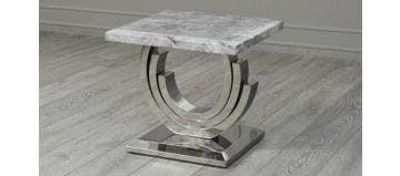 Burford Side Table Grey