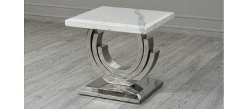 Burford Side Table White