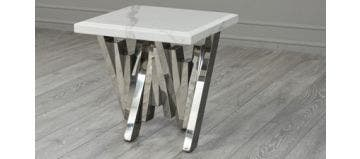 Matrix Side Table White