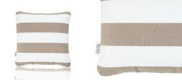 SCATTER CUSHION - LATTE STRIPED