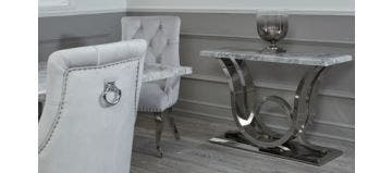 Uxbridge Console Table Grey