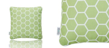 SCATTER CUSHION - LIME GREEN