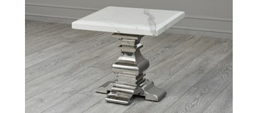 Warwick Side Table White