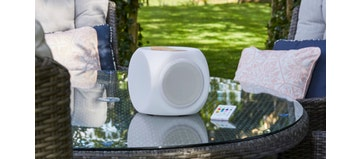 CUBY PLAY Bluetooth Illuminated Portable Speaker (Outdoor Electronics)