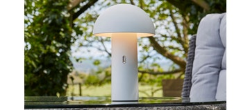 Tod Table Lamp - White