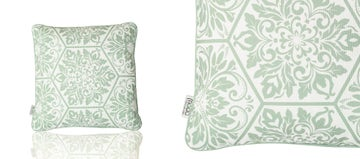 Scatter Cushion - Pattern Green