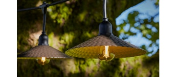 VINTY Shaded Hanging Lights (Outdoor Electronics)