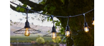 CHIC CAGE Hanging Lights (Outdoor Electronics)