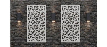Puzzle Medium 8mm Thick Decorative Screen (Individually Sold)