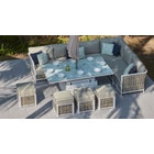 Sky 13 Corner Sofa & Dining Table Combo