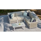 Sky 1 - 3-Seat Sofa & Coffee Table Combo