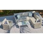 Sky 3 Corner Sofa & Coffee Table Combo