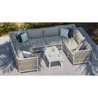 Sky 6 - U Shape Sofa and Coffee Table Combo
