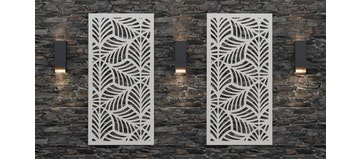 Willow Medium 8mm Thick Decorative Screen (Individually Sold)