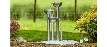Zen Outdoor Water Feature