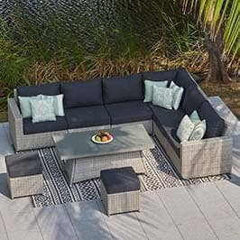 Better Homes And Gardens Replacement Cushions Azalea Ridge, Rattan Garden Furniture By Moda Furnishings Online Instore